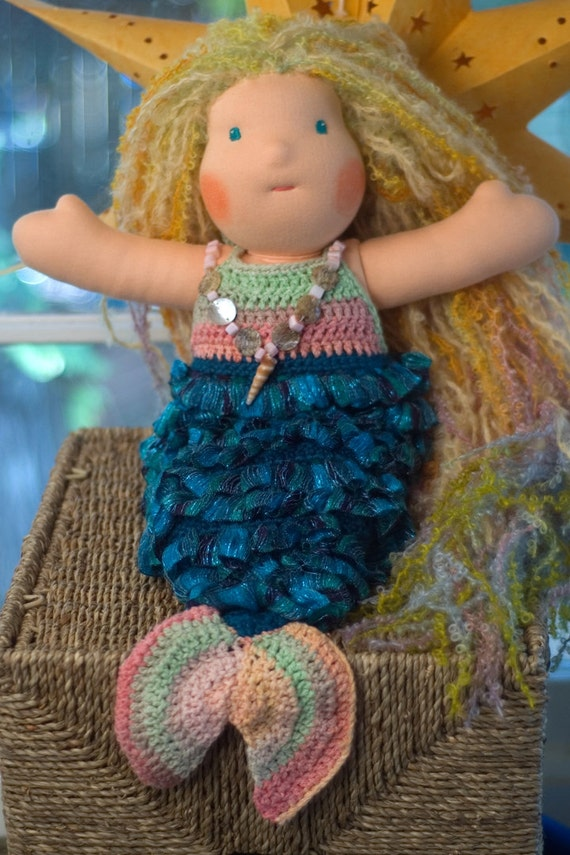 Mini Owl Amigurumi Pattern : Crochet Pattern Mermaid Tail for 16 doll or Newborn