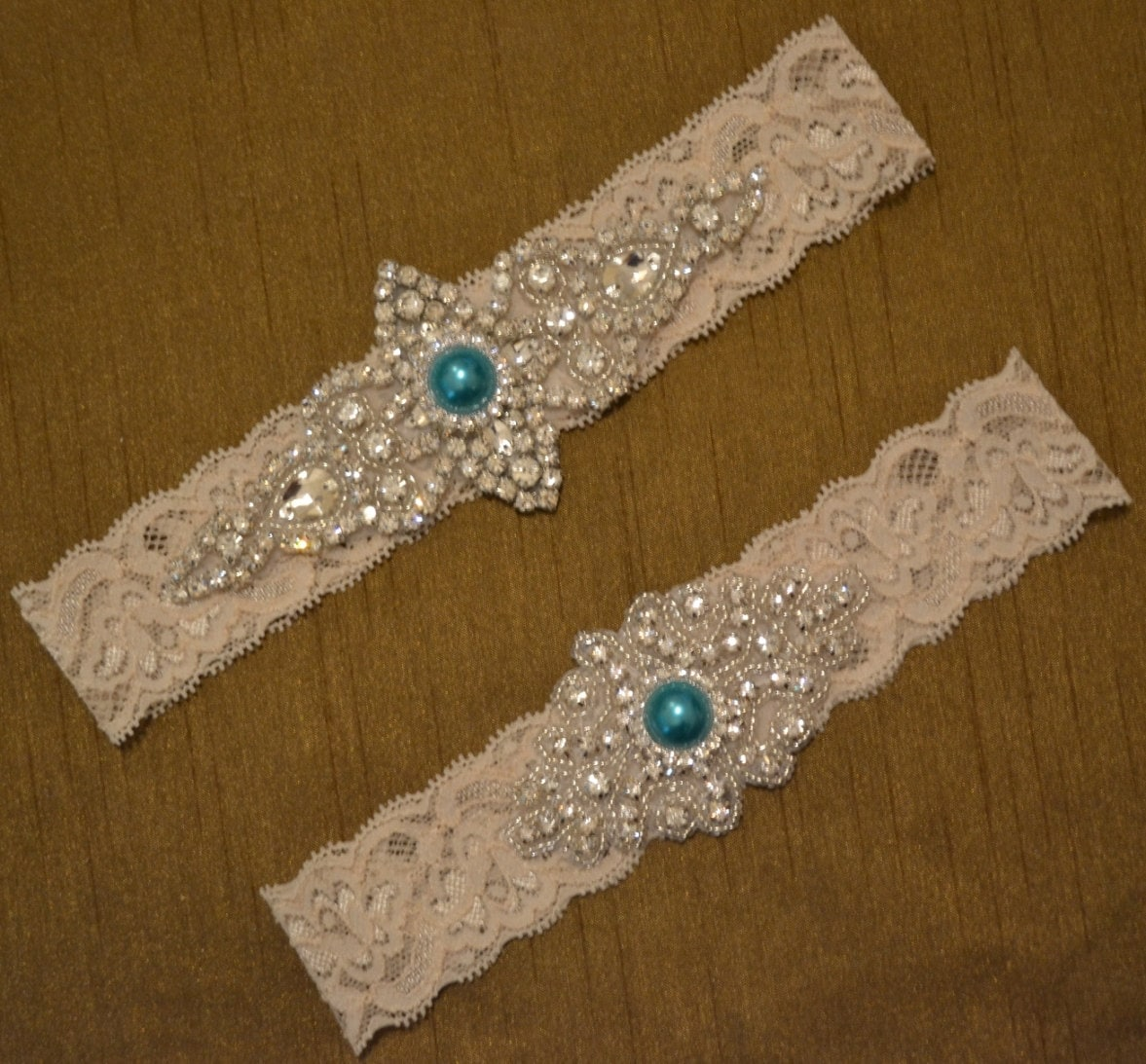 Wedding Garter Wedding Garter Set Unique By SpecialTouchBridal