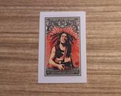 Bob Marley Sticker, 100% Waterproof Vinyl Sticker, Pop Culture Sticker, 3M Sticker
