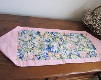 Spring Floral Table Runner