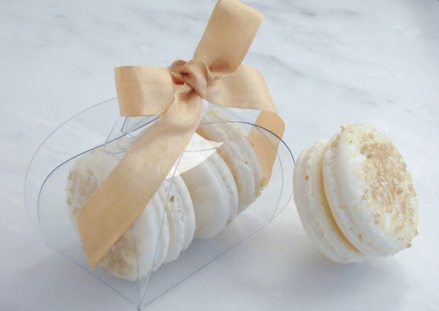 French Wedding Gifts: French Macaron Wedding Favor Baptism Communion Favor Box And