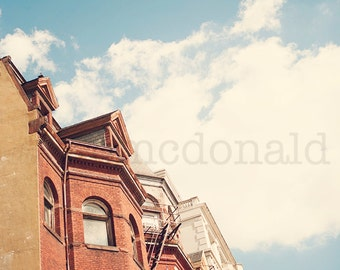Georgetown - Photographic Print -  Washington, DC,  Photography, art, politics, political, wall, hanging, decor, city, travel, usa