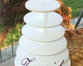 Cupcake Stand 6 Tier Dessert Stand Threaded Rod Style Cupcake Tower Wedding Stand Birthday Donut Stand