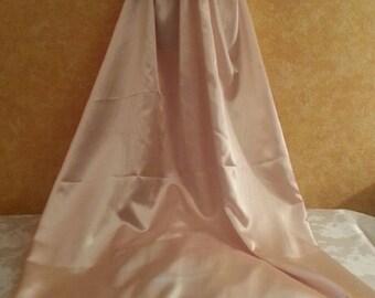 Champagne Vintage Goddess Empire Waist Sweetheart Neckline Babydoll Sheath Satin Charmeuse Wedding Bridal Gown Party Club Costume Ball Gown