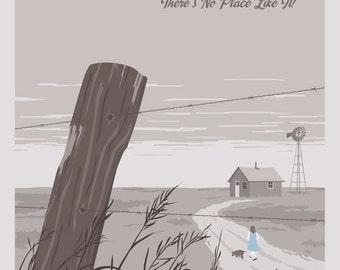 Postcard to Dorothy's Kansas