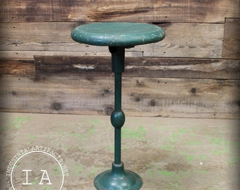 Vintage Industrial Soda Founain Stool w/ Optional Wall Mount