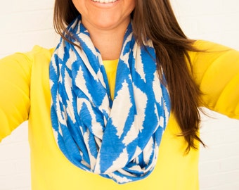 Sailor's Life Royal Blue Infinity Scarf