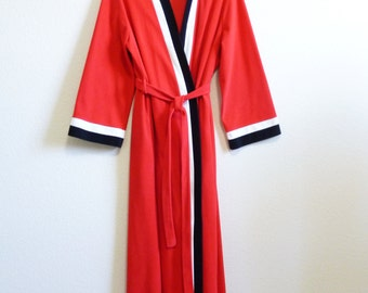 Soft Warm Red Mod Red Robe Medium