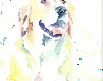 "Custom Watercolor Pet Portraits (8""x10"")"