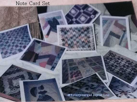 Note Cards  Country Victorian Quilt Lovers Note Card Set