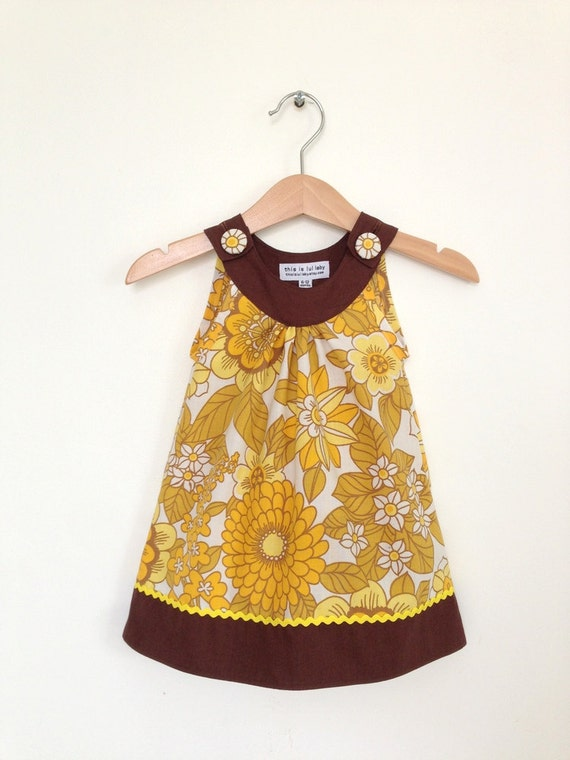 baby dress 6 to 12 months retro baby clothes by