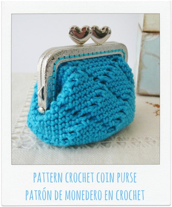 Crochet Coin Purse Pattern : All Bags & Purses