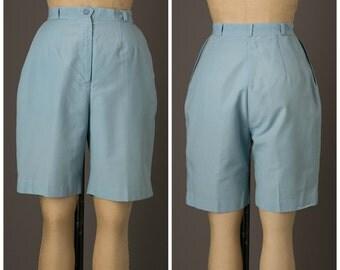 Light Blue Shorts | Lady Golfer by Di Fini