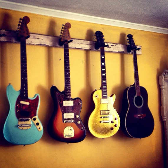 items similar to this is a custom guitar rack holder. Black Bedroom Furniture Sets. Home Design Ideas
