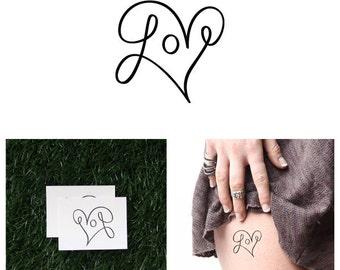 Loop De Loop - Temporary Tattoo (Set of 2)