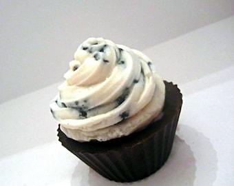 Cookies & Cream Cupcake Soap