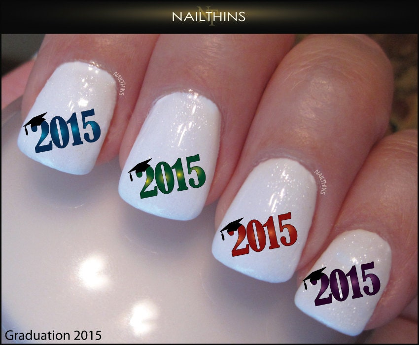 Today Live Sports Graduate Class Of 2015 Graduation Nail Decals