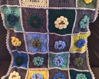 Field Of Dreams Baby Blanket - Customize Your Colors