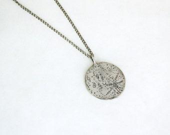 Full Moon Medallion- Sterling Silver