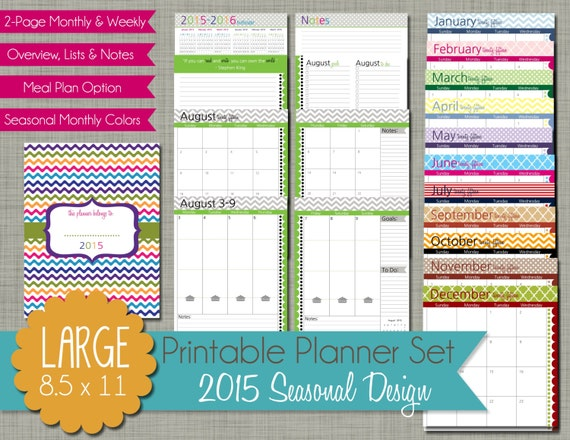 Free Calendar Printable 2016 Monthly Daytimer | Search Results ...