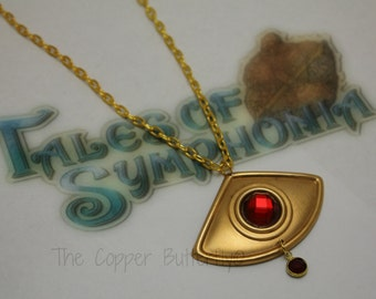 Zelos Wilder - Tales of Symphonia Inspired - Cosplay Cruxis Crystal Necklace - STYLE A - 6140163
