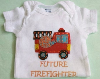 Firefighter Onesie