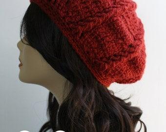 Penny PinWheel Slouchy Beanie, Beret Winter Hat