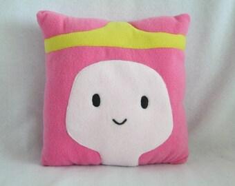 Bubblegum Princess Adventure Time Pillow