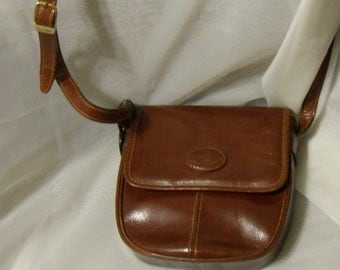 Jane Shilton Shoulder Cross Body Bag Brown Leather