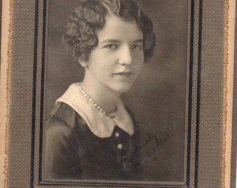 Antique Photo of Beautiful Young Woman ID'd