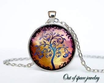 TREE OF LIFE pendant Tree of life necklace pendant Tree of life jewelry Forest