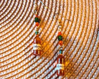 WINE - CHARDONNAY too earrings