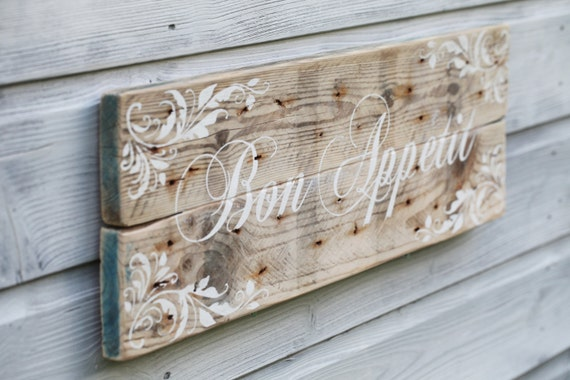 French Country Wall Decor Kitchen : Items similar to kitchen sign decor french