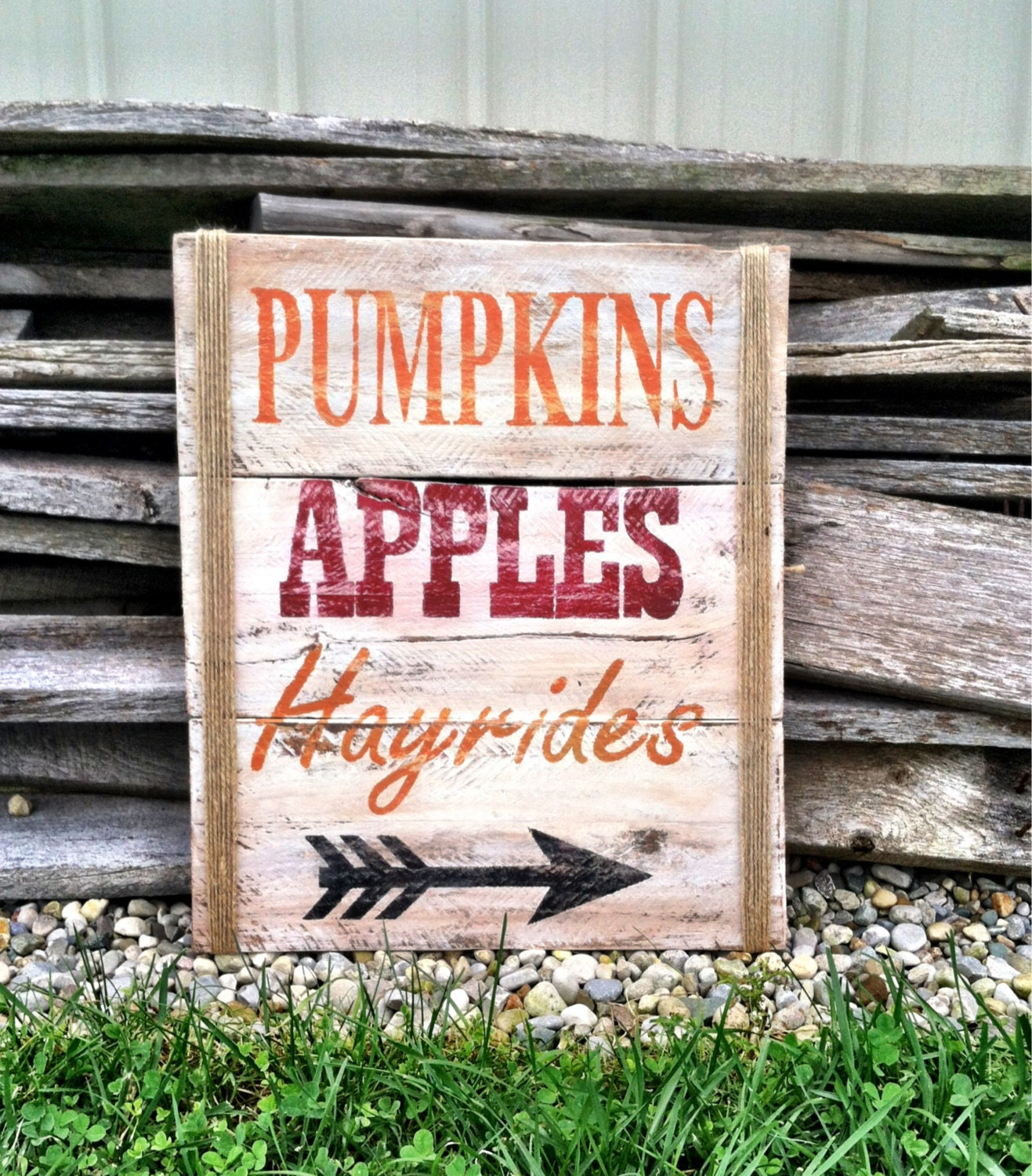 Fall decorations harvest decorations wall decor fall for Outdoor decorative signs