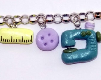 Craft Lovers Charm Bracelet