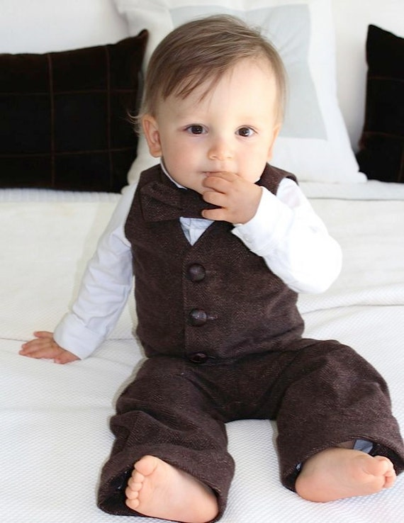 SUSPENDER and BOW TIE Matching SET Tuxedo Wedding Suit Party for Baby Boy Kids Brand New out of 5 stars - SUSPENDER and BOW TIE Matching SET Tuxedo Wedding Suit Party for Baby Boy .