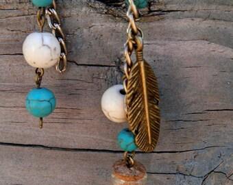 Inspired: abstract dangle earrings