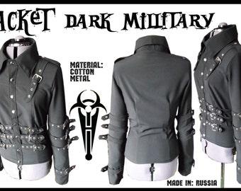 Gothic military jacket