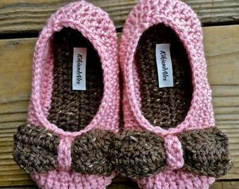 Crochet Toddler Slippers