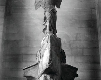Winged Victory Statue the Louvre, Paris Photograph