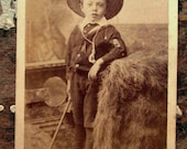 Young Master in his Knickers - CDV from 1870's-80's London - Find your muse