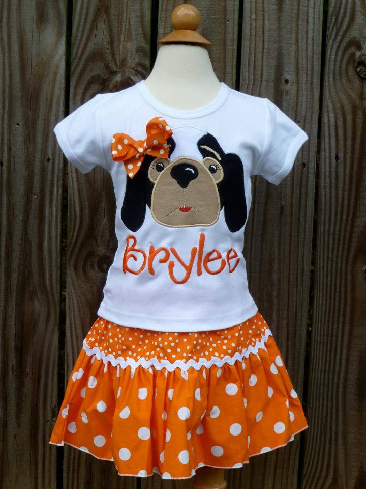 Personalized football hound dog face applique shirt or onesie for Custom dog face t shirt
