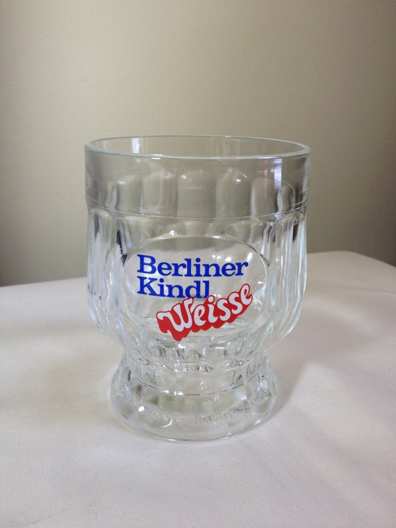 berliner kindl weisse 3l rastal 1975 beer glass by ugliducklings. Black Bedroom Furniture Sets. Home Design Ideas