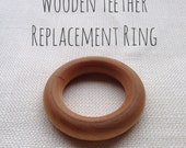Wooden Teether Replacement Ring
