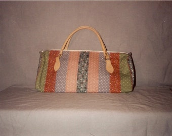 Striped Quilt Purse Pattern