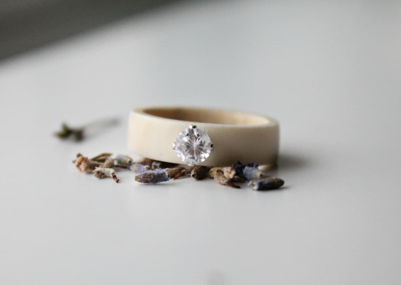 antler ring for antler jewelry sami