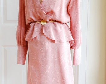 1980's Pretty in Pink Dress by Group B Clothing Co.