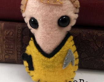 Captain James T Kirk - Star Trek plushie