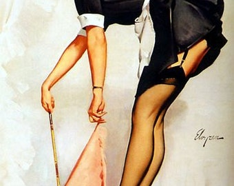 1950's Vintage Pin-Up Girl Poster 3