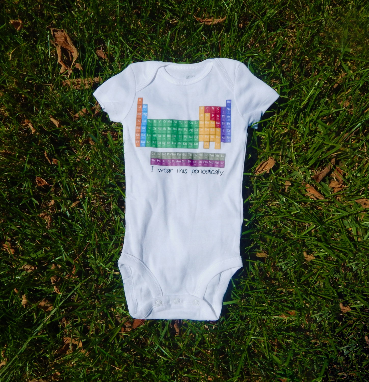 Science Baby Gifts Australia : Ships asap i wear this periodically science baby clothes
